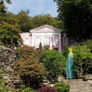 pretty in pink | portmeirion | by John FotoHouse