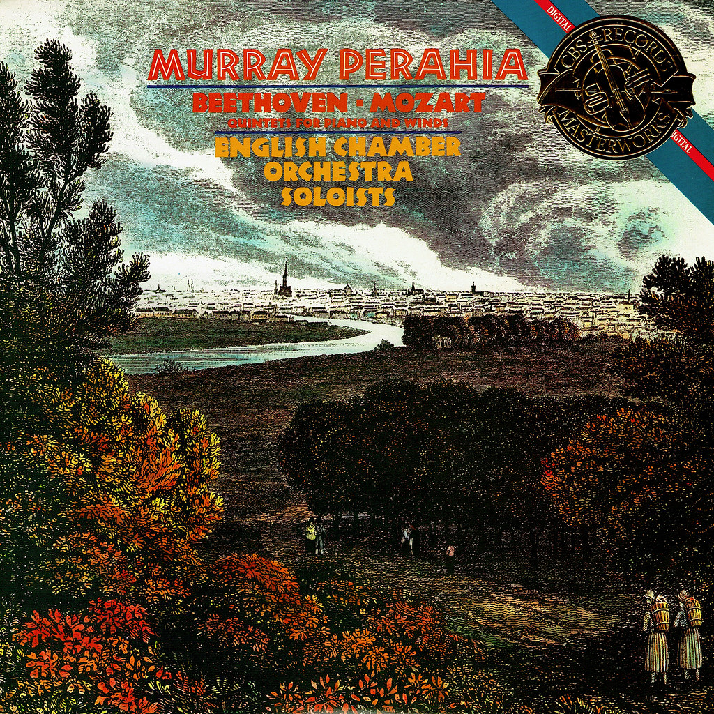 Murray Perahia - Quintets for Piano and Winds