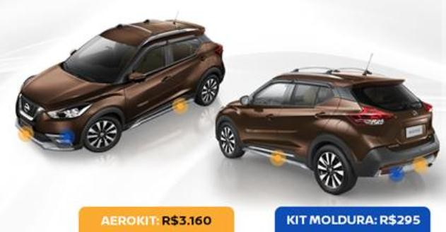 Nissan Kicks 2017 Kits Visuais