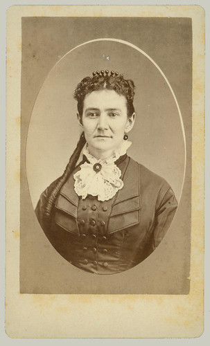 CDV Portrait of woman