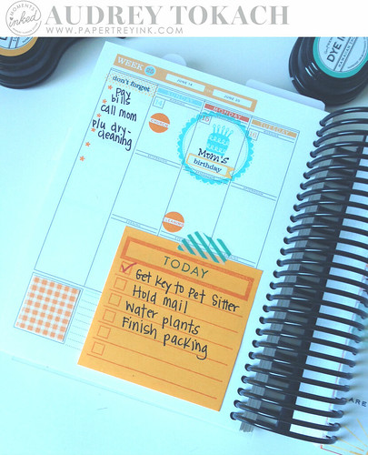 PTI Moments Inked Planner
