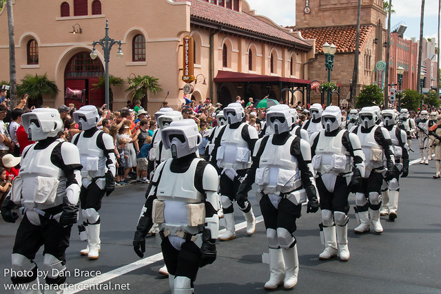 Legends of the Force Motorcade