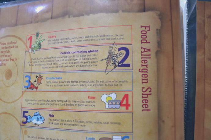 shri bheemas allergy info