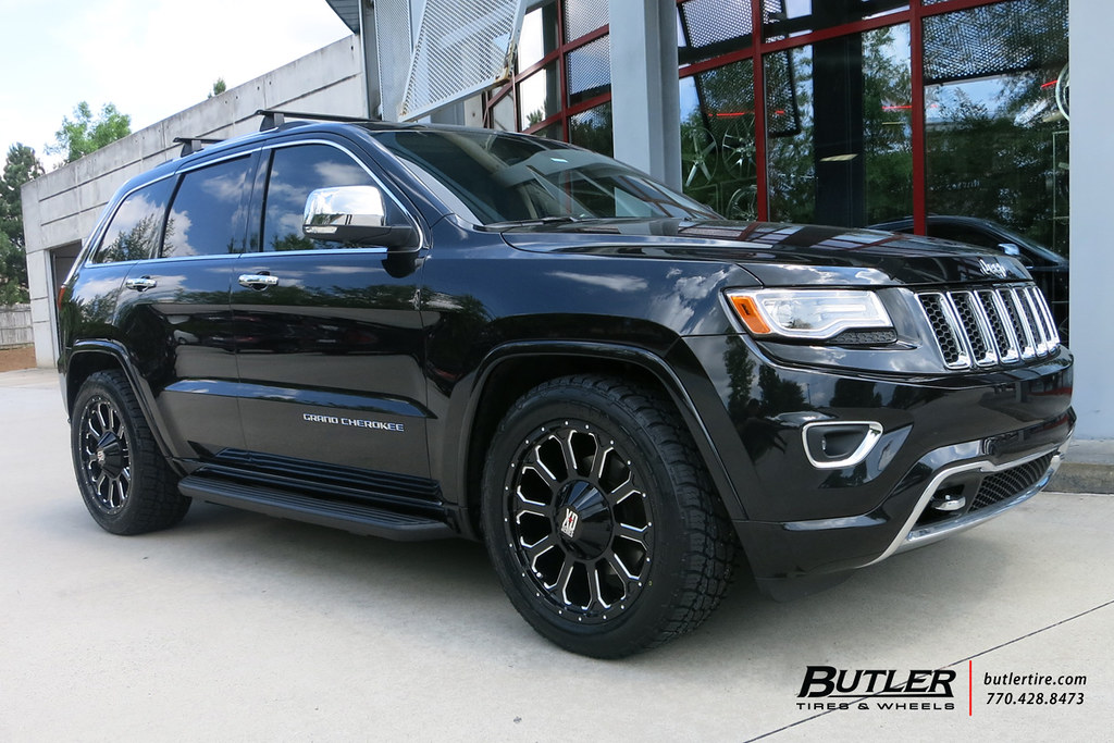 Jeep Grand Cherokee With 20in Xd 806 Bomb Wheels