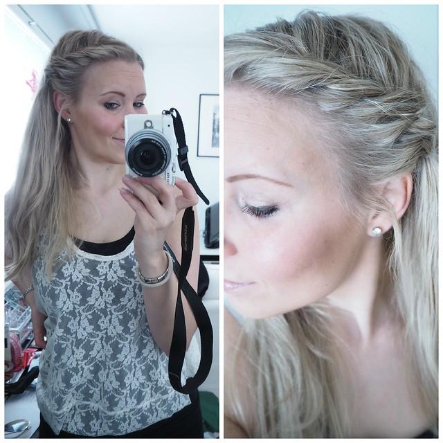 sivulettikampauspic1,sivulettipic6, kampaus, hiukset, hair, sivulettikampaus, combing, hairdo, hair styling, styling, lettikampaus, plait hairstyle, plait, braid, vaaleat hiukset, pitkät hiukset, kampaus, kampaukset, ideat, kampausideat, blond hair, long hair, hairdo ideas, sivuletti kampaus, sivuletti, hiukset auki, open hair, beauty, kauneus, kauneusblogi,