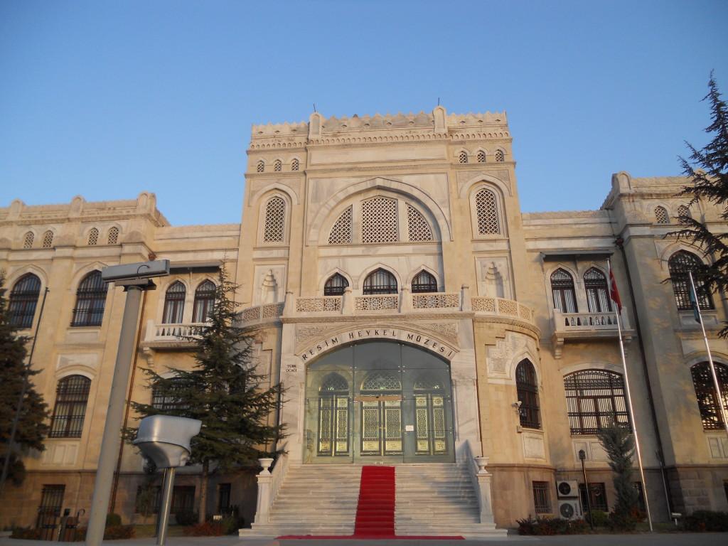 Resim ve Heykel Müzesi(圖畫與雕像博物館)