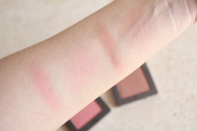 Urban decay Afterglow 8-Hour Blush in Video swatches