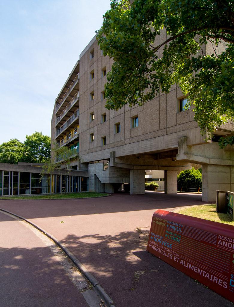 Dsc4240 maison du br sil paris le corbusier lucio cos flickr - Maison du bresil paris ...