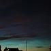 Faint Aurora and Noctilucent Clouds (Grab shot )