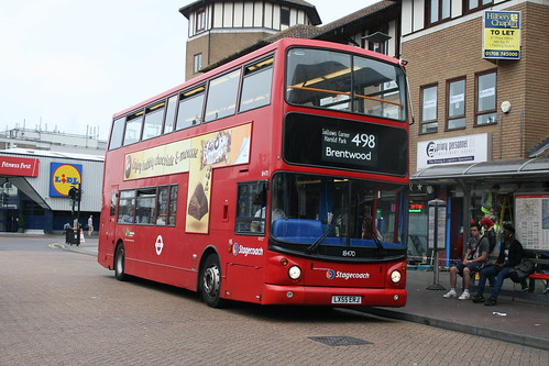 Stagecoach London 18470 on Route 498, Romford Station