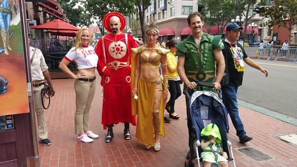 San Diego Comic-Con 2015 Cosplay - Flash Gordon