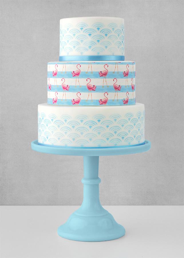 papel de azucar tarta