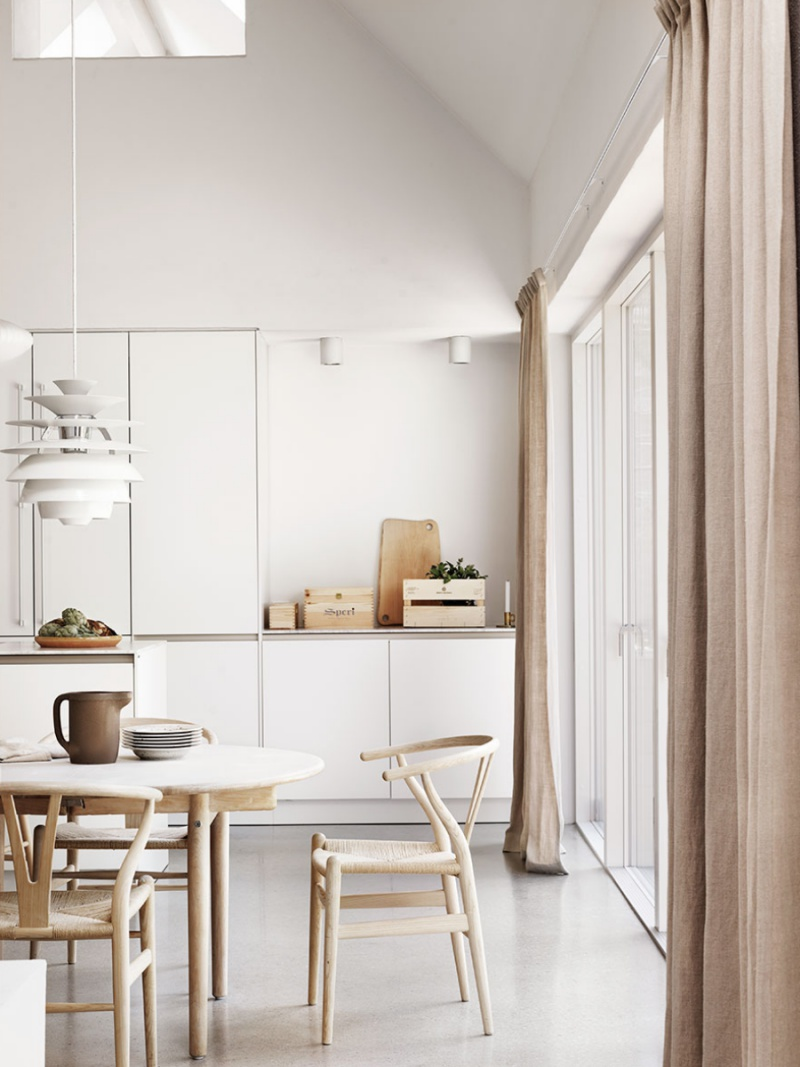 Soft and Feminine Scandinavian Home