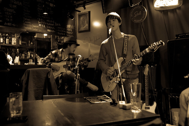 T.G.I.F. Blues Session at Terraplane, Tokyo, 13 Jan 2017 -00057