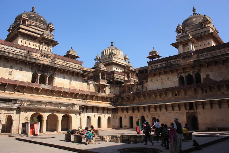 Индия,Дворец в Орчхе