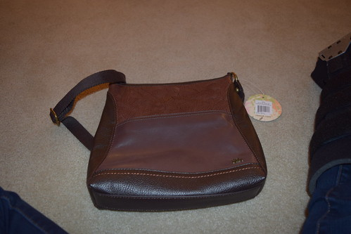 A purse from Super Sis and her family