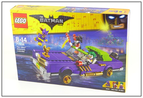 The LEGO Batman Movie 70906 The Joker Notorious Lowrider box01