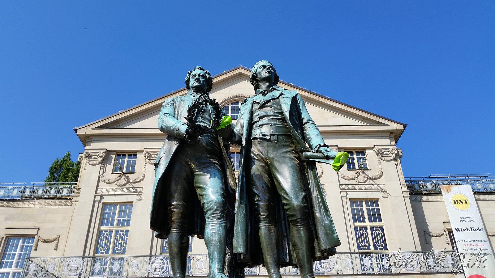 Weimar Goethe Schiller Denkmal duesiblog 36