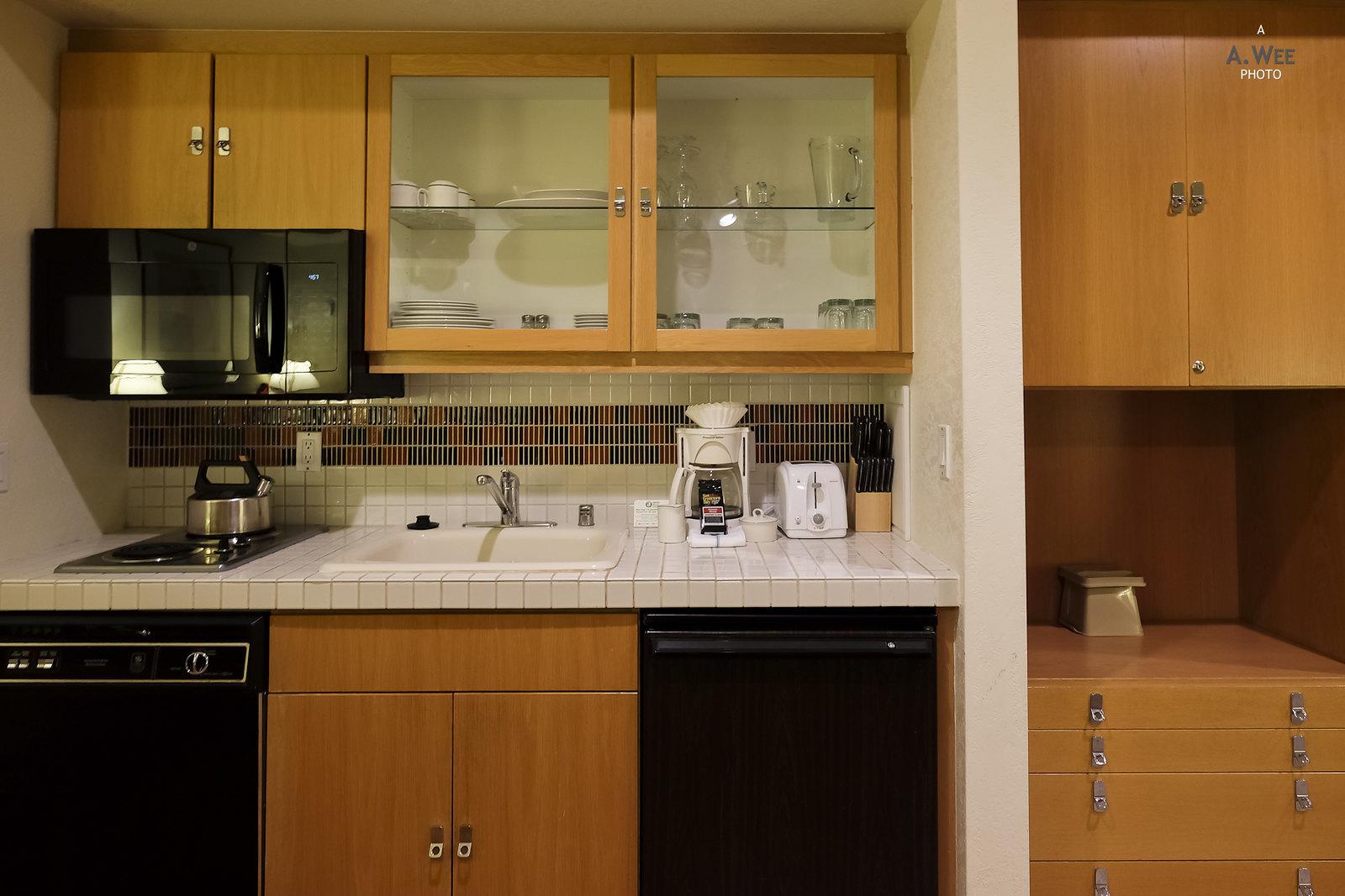 Kitchenette setup