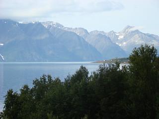 Uitzicht op schiereiland Lyngen 2