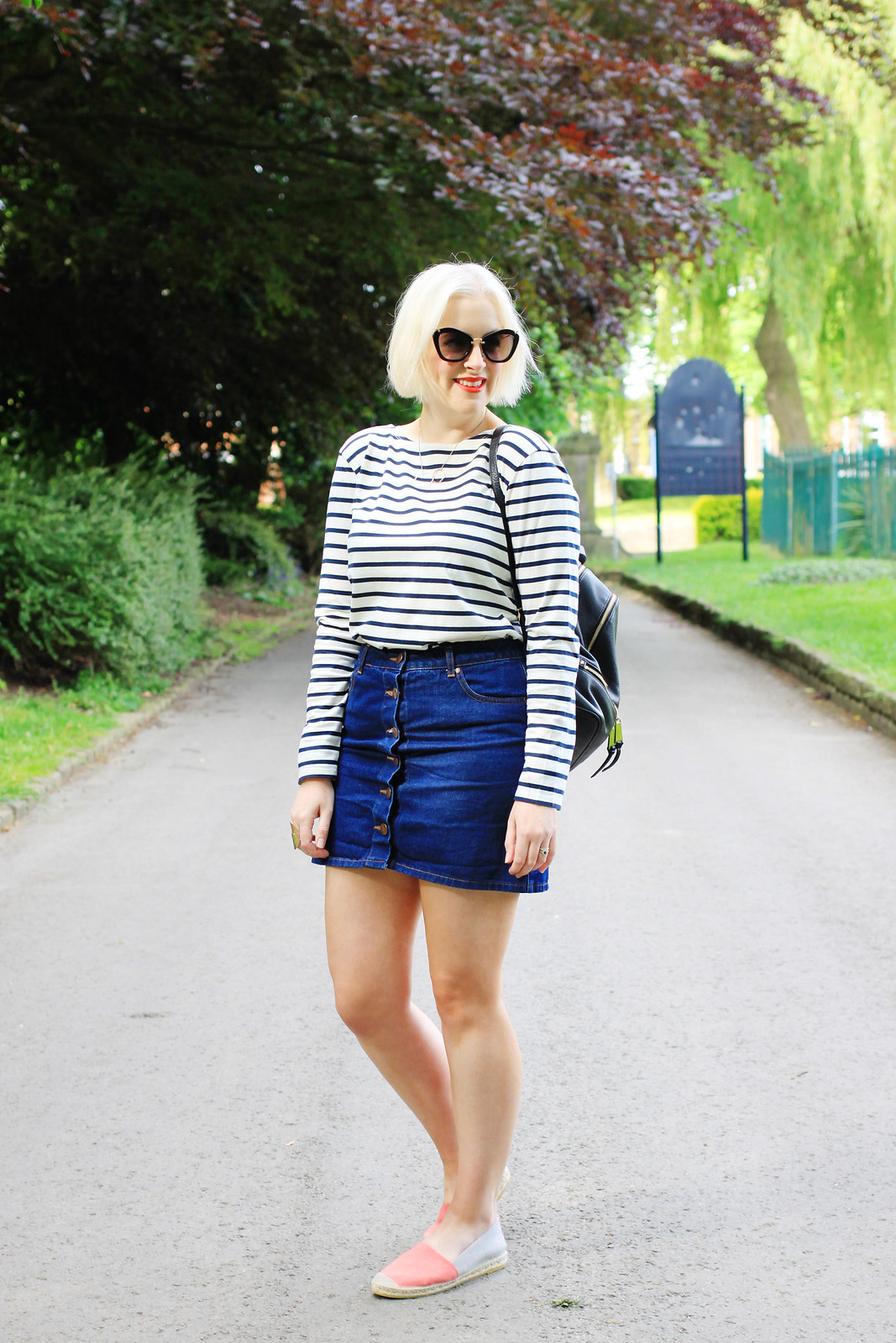 seasalt cornwall breton striped top