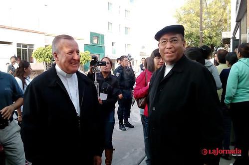 Arzobispo reza por la suerte de SLP con quienes ganen elección