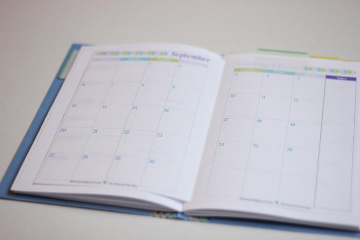 Handmade Weekly Planner