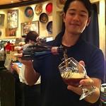 ベルギービール大好き!!クーデシャルル ブラウンQueue de charrue Brune @赤坂レゼルブ