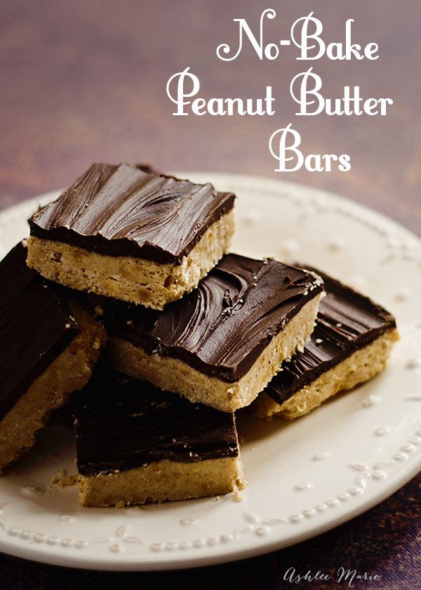 these no bake peanut butter bars are easy to make and are always a huge hit, everyone loves them