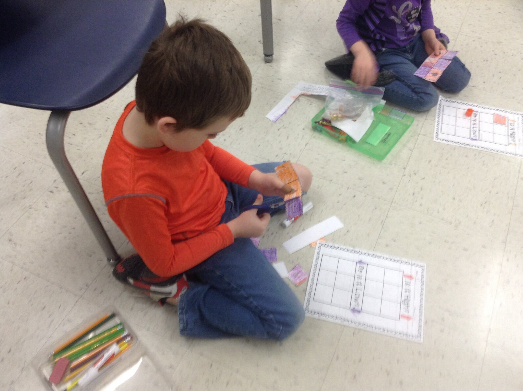 Working on high and low sort