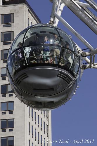 London Eye Capsule 19.04.2011