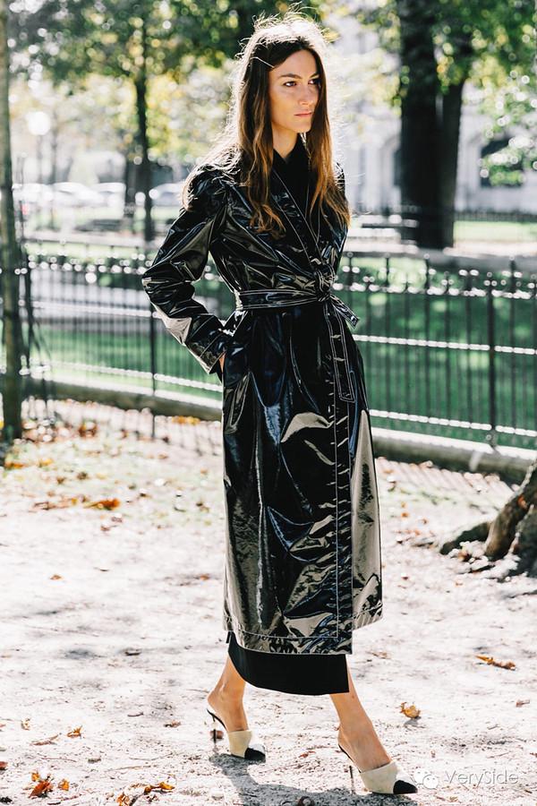 Giorgia Tordini In Vinyl Trench Coat Vinyl Beauties Flickr