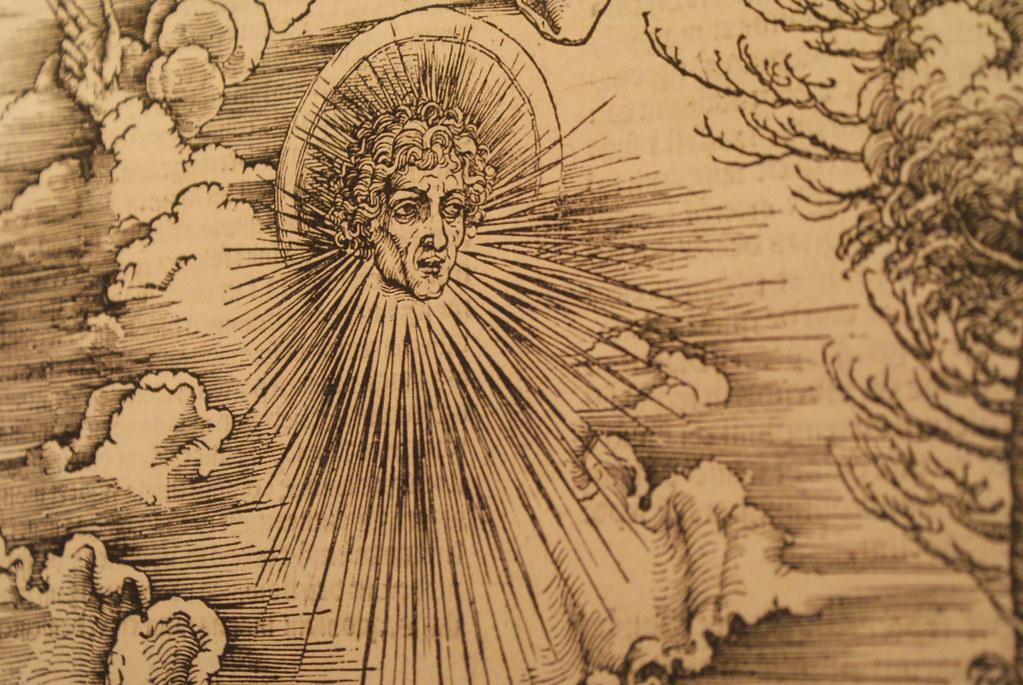 Gravure de Jérôme Bosch au musée Klášter Bl. Anežky de Prague.