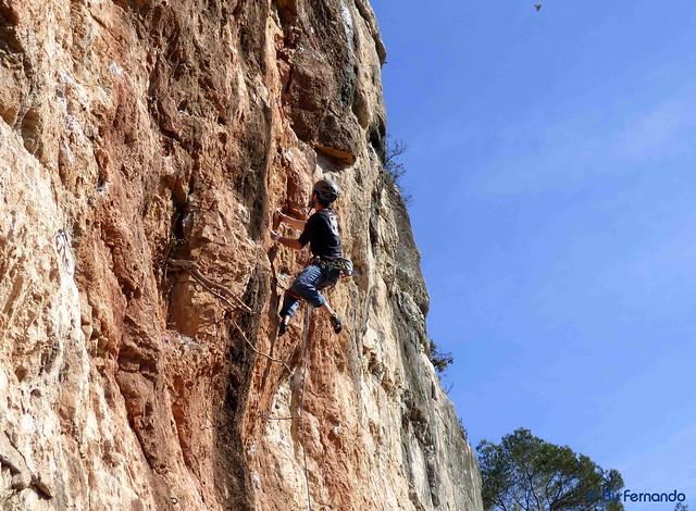 Conrad - De Cap Al Ninxol, 7a -05- Can Paulet, Sector la Repisa (29-01-2017)