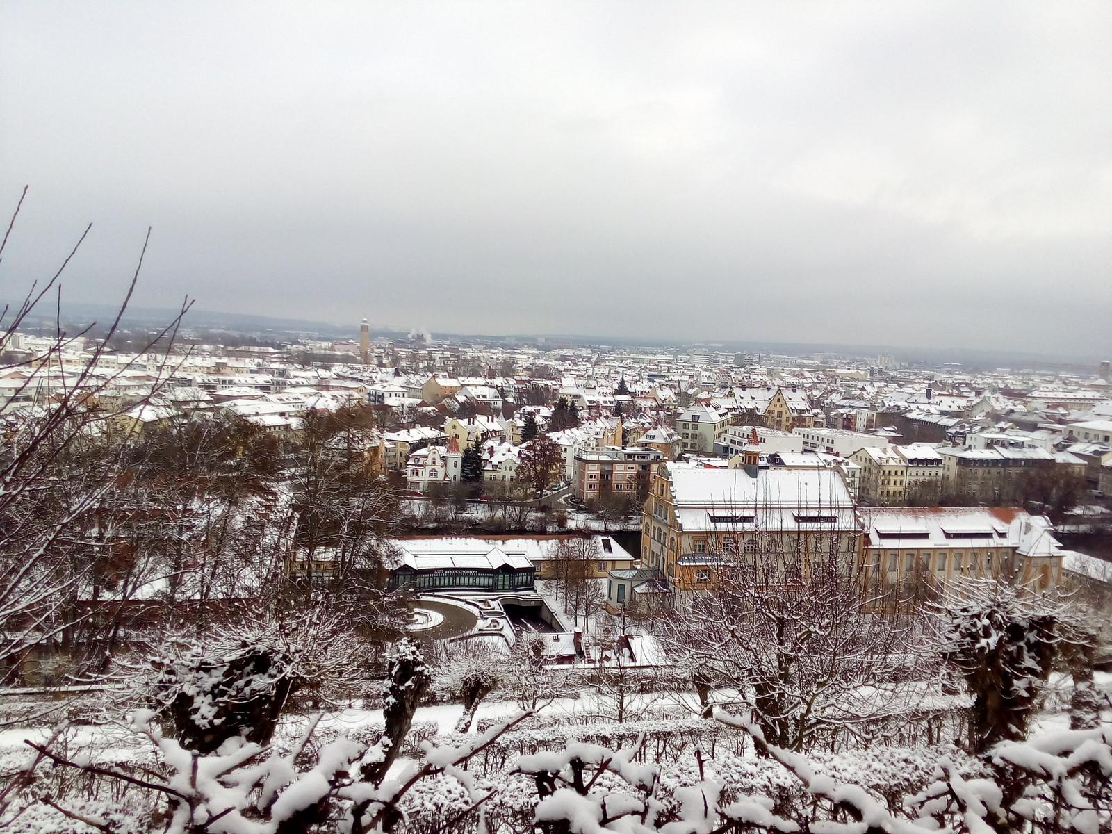 Bamberg vista da Michaelberg