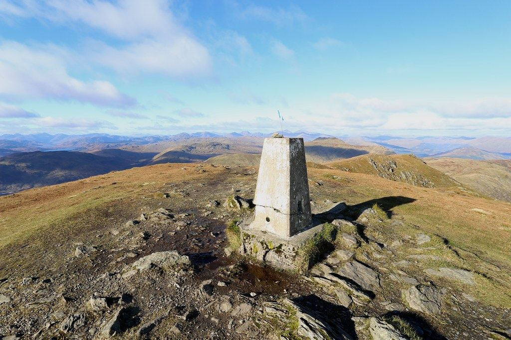 Summit of Ben Ledi