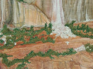 Waterfall Mesa by Laura Gilmartin - Detail