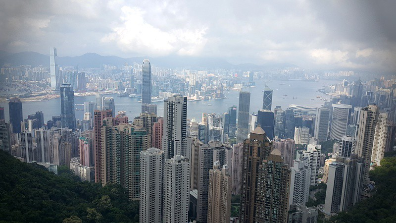 Hong Kong The Peak