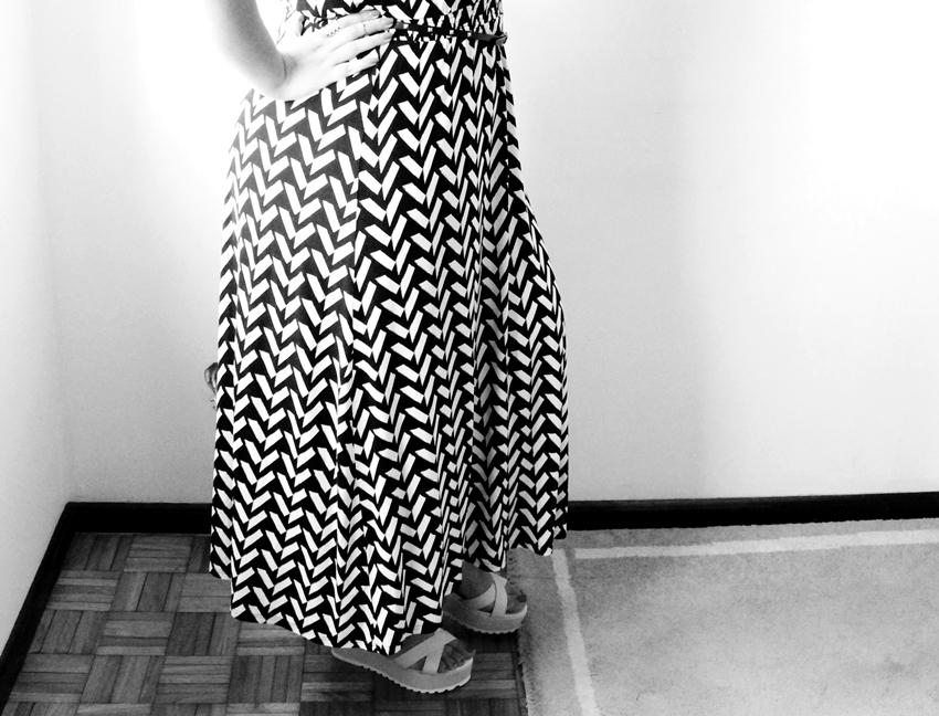 Chevron Dress WHITEDAISY blog (1)