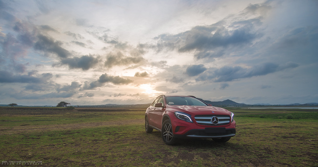 Ideal for India! The Mercedes Benz GLA!