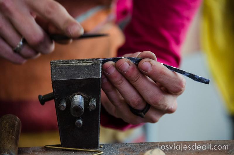 pueblos del macizo del Canigó artesanos en Arles-sur-Tech