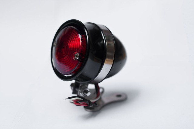Black Aluminium CNC Taillight