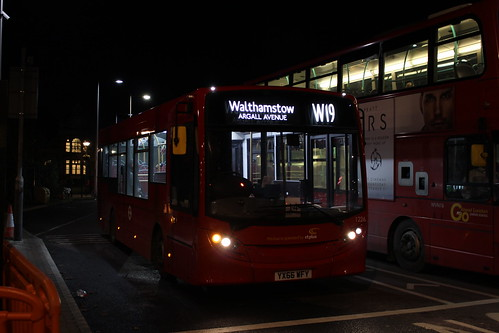 CT Plus 1226 on Route W19, Walthamstow Central
