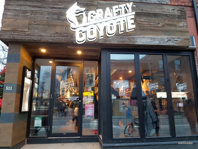 Crafty Coyote storefront