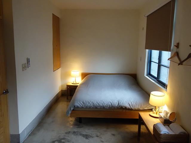無印良品的寢具,低彩度的被套迎接準備入眠沉澱心情的你 @花蓮小晴天旅宿