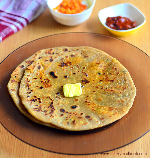 Cauliflower paratha