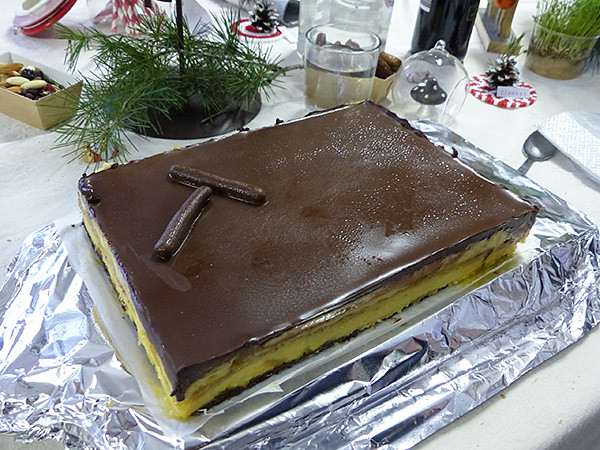 gâteau de Vanesssa