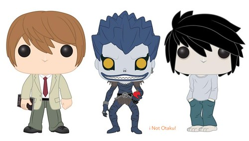 POP FUNKO DEATH NOTE