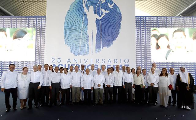 25 Aniversario de la Firma de los Acuerdos de Paz (1)