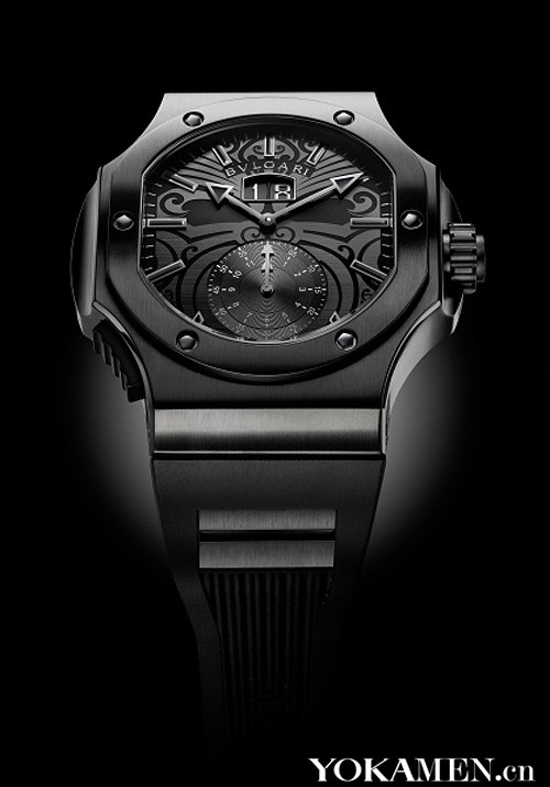 Bulgari with the legendary ALL BLACKS rugby team fusion